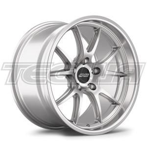 APEX ALLOY WHEEL FL-5 18 X 10.5 ET22 RACE SILVER 5X120MM 72.56MM