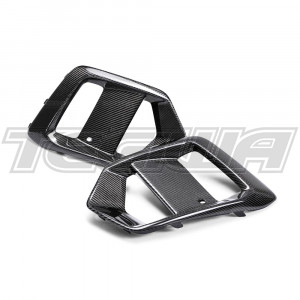 Seibon Carbon Fibre Fog Light Surround Ford Focus RS 16-18