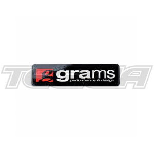 "GRAMS PERFORMANCE 4"" LOGO - BLACK"