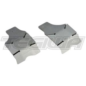 Hardrace Front LCA Bracket Shield Plate (2 Piece Set) Jeep Wrangler 18- JL