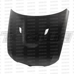 Seibon BM-Style Carbon Fibre Bonnet BMW E90 3 Series Saloon 09-11