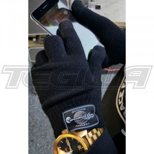 SPEEDFACTORY RACING KNIT GLOVES WITH TOUCH SCREEN CAPABLE FINGERS