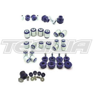 SUPERPRO FRONT AND REAR COMPLETE VEHICLE BUSHING UPGRADE KIT