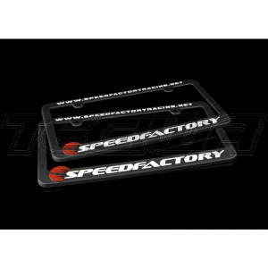 SPEEDFACTORY RACING LICENSE PLATE FRAME