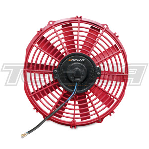 Mishimoto Slim Electric Fan 12in Red
