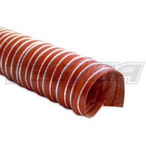 """MISHIMOTO HEAT RESISTANT SILICONE DUCTING, 2"""" X 12'"""