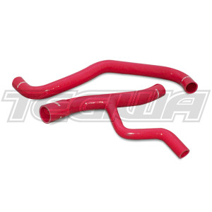 Mishimoto Silicone Radiator Hose Kit Ford Mustang GT 01-04 Red