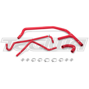 Mishimoto Silicone ANC Hoses Ford Mustang Ecoboost 15-17 Red