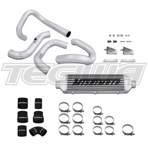 MISHIMOTO INTERCOOLER KITS 10-12 HYUNDAI GENESIS TURBO INTERCOOLER & PIPING KIT SILVER