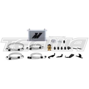 Mishimoto Oil Cooler Kit Pontiac GTO Thermostatic 04-06 Silver