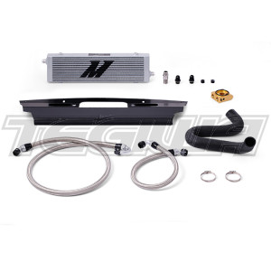 Mishimoto Thermostatic Oil Cooler Kit Ford Mustang GT 15-17 Silver