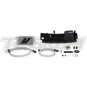 Mishimoto Thermostatic Oil Cooler Kit Ford Focus RS 16-18 Silver