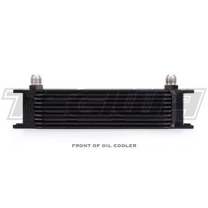 Mishimoto Universal 10 Row Oil Cooler Kit Black