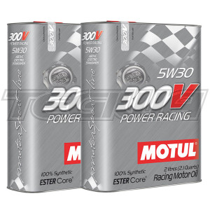 MOTUL 300V POWER RACING 5W30 SYNTHETIC ENGINE OIL