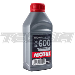 MOTUL RBF 600 RACING BRAKE FLUID 0.5L 500ML
