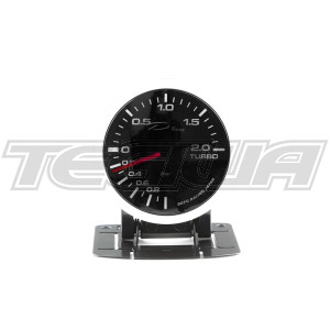 DEPO RACING PK-WA 52MM LED BOOST GAUGE -1BAR -2BAR WITH WARNING AND PEAK/ CONTROL BOX