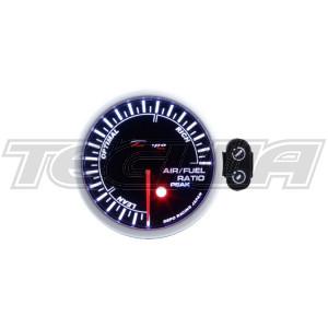 DEPO RACING PK-WA 52MM LED AIR FUEL RATIO AFR GAUGE LED DISPLAY WITH PEAK/CONTROL BOX