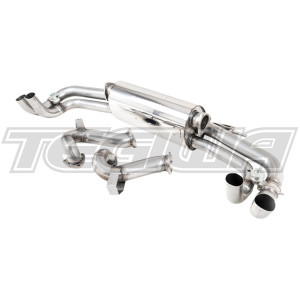 Milltek Cat Back Exhaust Audi R8 V10 5.2l Plus Coupe & Spyder 17-20 - RAW / Polished