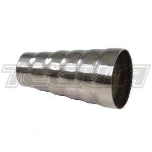"""TEGIWA UNIVERSAL STAINLESS STEEL 6 STEP EXHAUST REDUCER ADAPTER 3"""" - 2"""""""