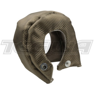 TEGIWA TURBO BLANKET TITANIUM HEAT SHIELD PRECISION 5858 / T3 T2 T25 T28 GARRETT HOLSET W/ SPRINGS
