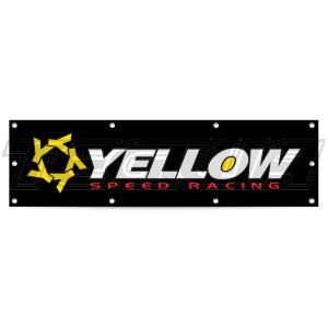 YELLOW SPEED RACING YSR WORKSHOP GARAGE BANNER LARGE 170CM X 70CM