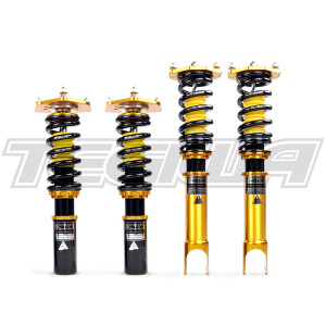 YELLOW SPEED RACING PREMIUM COMPETITION COILOVERS VOLKSWAGEN GOLF 6 MKVI 08-11 TYPE B